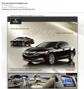 Acura email