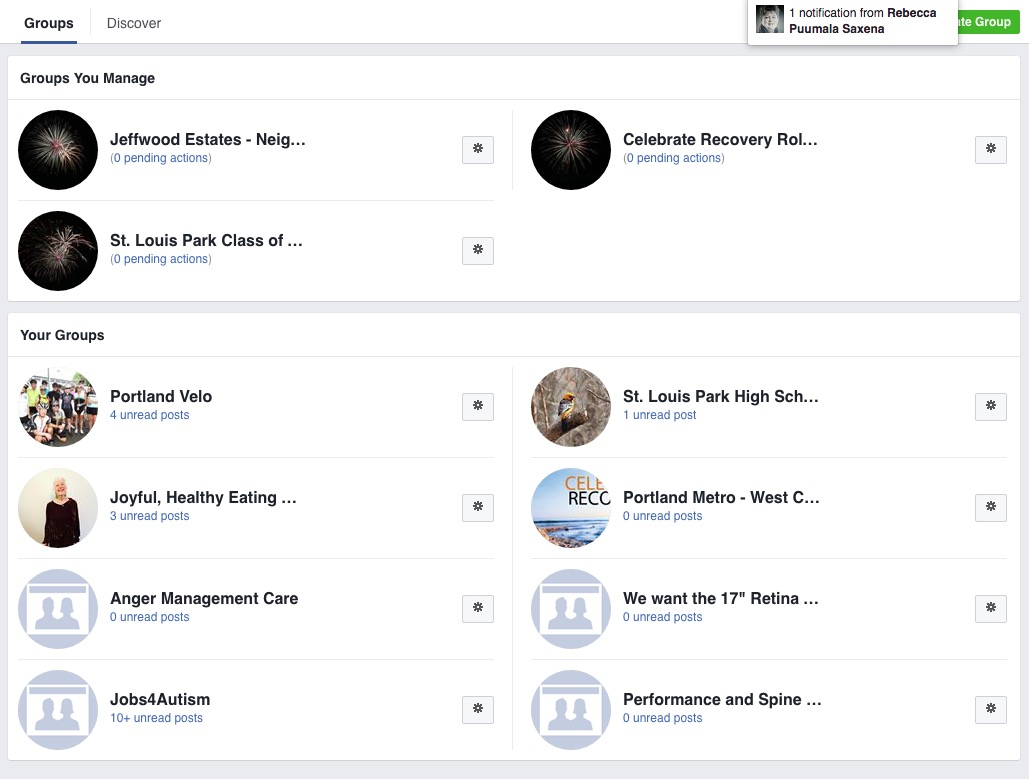 how to change facebook page category