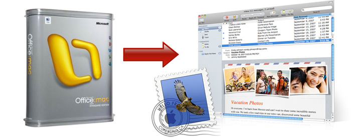 how to add my outlook email to my mac mail