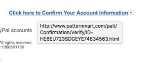 PayPal hyperlink